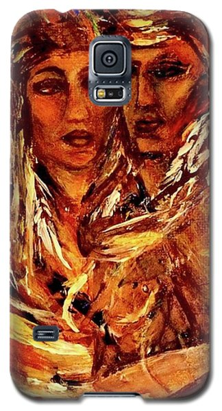 Beloved Woman Galaxy S5 Case by Dawn Fisher