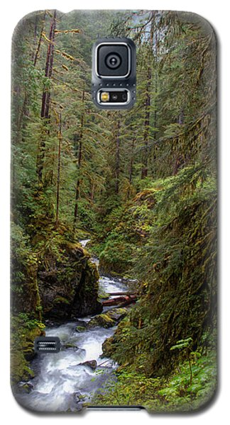 Below The Falls Galaxy S5 Case by David Andersen
