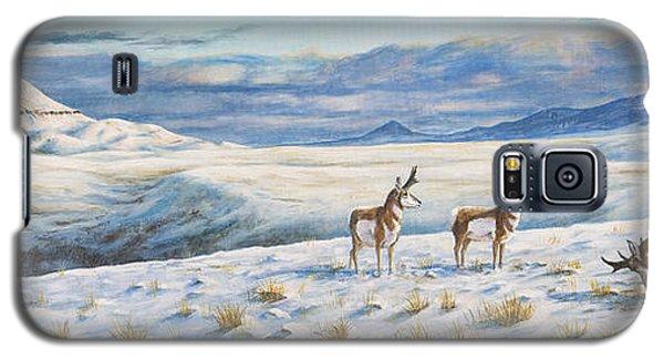 Belt Butte Winter Galaxy S5 Case