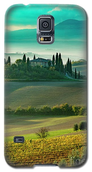 Galaxy S5 Case featuring the photograph Belvedere - Tuscany II by Brian Jannsen