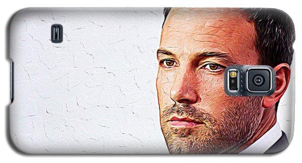 Ben Affleck Galaxy S5 Case by Iguanna Espinosa