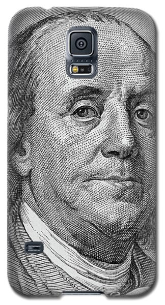 Galaxy S5 Case featuring the photograph Ben Franklin by Les Cunliffe