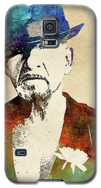 Ben Kingsley Galaxy S5 Case by Mihaela Pater