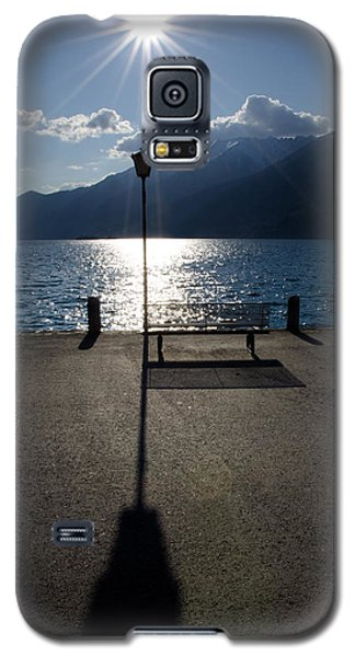 Bench And Street Lamp Galaxy S5 Case