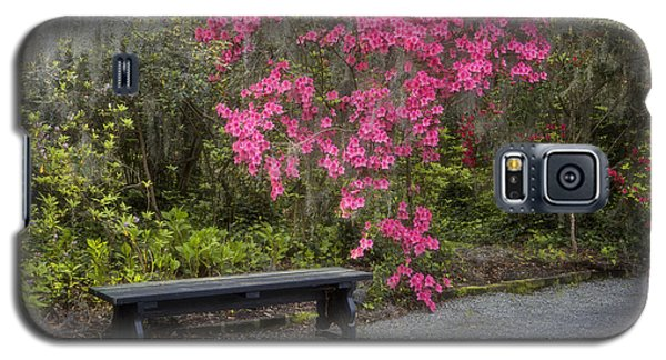 Bench In Azalea Garden Galaxy S5 Case