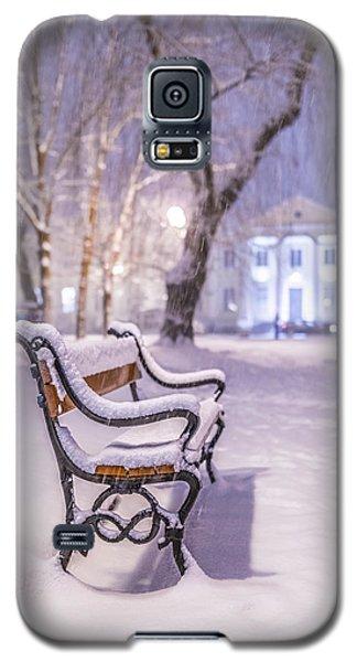 Bench Galaxy S5 Case by Jaroslaw Grudzinski