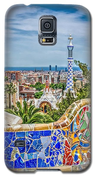 Bench Of Barcelona Galaxy S5 Case