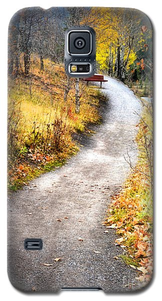Bench On A Hill Galaxy S5 Case