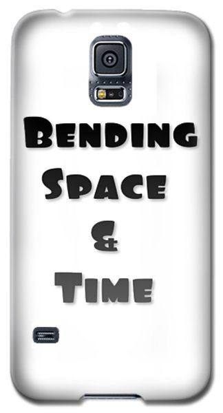 Bending Space And Time, Einstein, Possibility Quotes, Art Prints, Motivational Posters Galaxy S5 Case