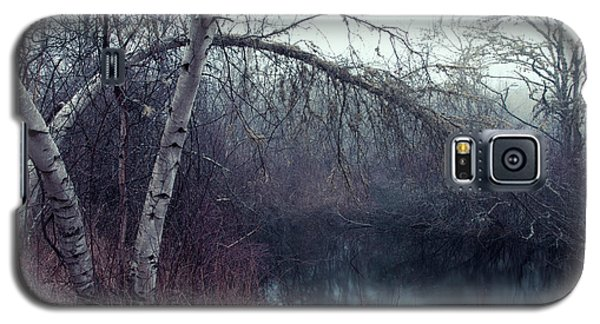 Galaxy S5 Case featuring the photograph Bending Birch by Andrew Pacheco