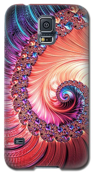 Beneath The Sea Spiral Galaxy S5 Case by Kathy Kelly