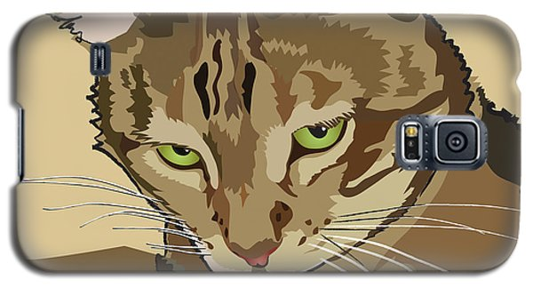 Bengal Kitty Pet Portrait Galaxy S5 Case