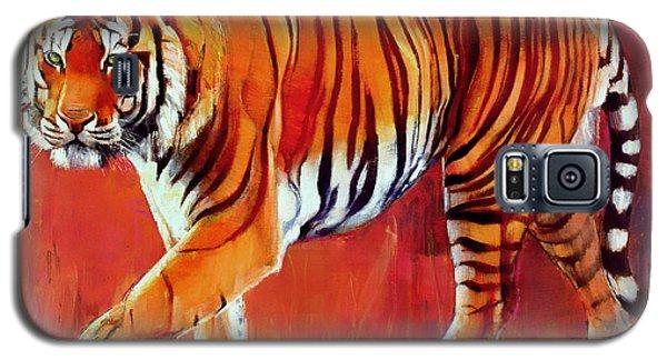 Bengal Tiger  Galaxy S5 Case by Mark Adlington