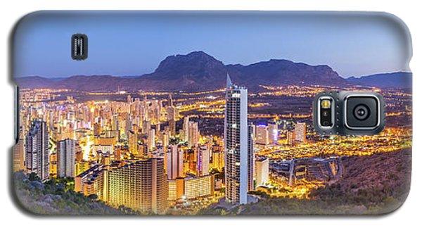 Benidorm At Sunrise, Spain. Galaxy S5 Case