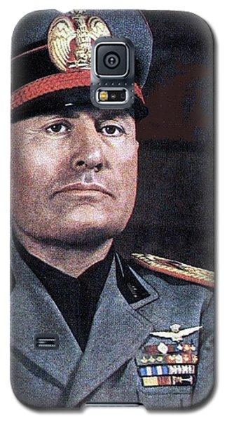 Benito Mussolini Color Portrait Circa 1935 Galaxy S5 Case