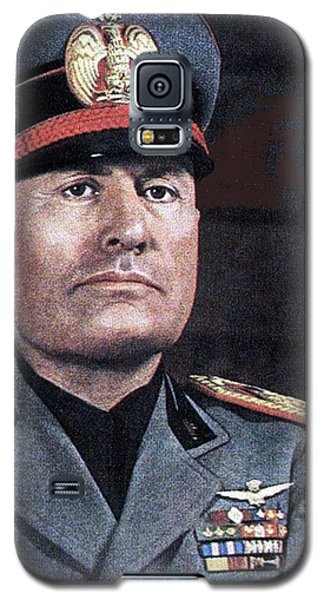 Benito Mussolini Color Portrait Circa 1935 Galaxy S5 Case
