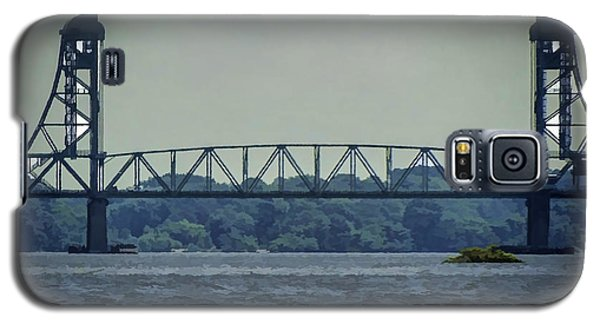 Benjamin Harrison Memorial Draw Bridge Galaxy S5 Case by Melissa Messick