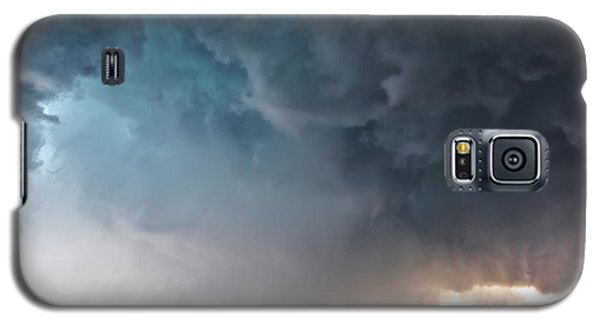 Galaxy S5 Case featuring the photograph Bennington Kansas Tornado Structure by James Menzies