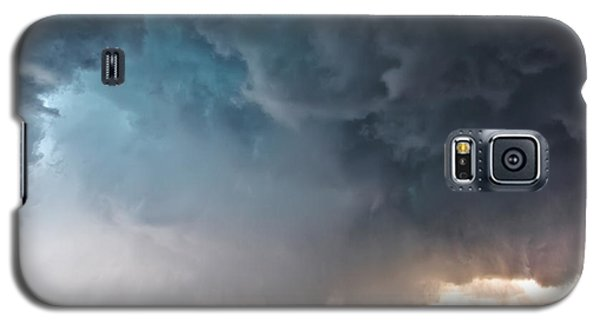 Bennington Kansas Tornado Structure Galaxy S5 Case by James Menzies