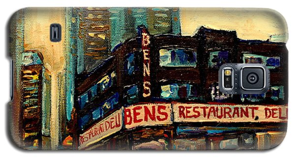 Bens Restaurant Deli Galaxy S5 Case