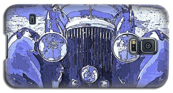 Bentley Blue Pop Art P2 Galaxy S5 Case
