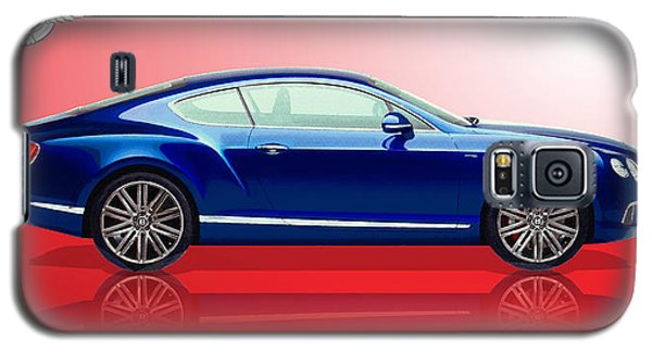Bentley Continental Gt With 3d Badge Galaxy S5 Case