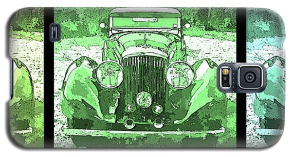 Bentley Green Pop Art Triple Galaxy S5 Case