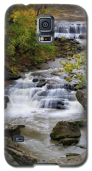 Galaxy S5 Case featuring the photograph Berea Falls by Dale Kincaid