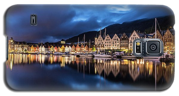 Bergen Harbor Galaxy S5 Case