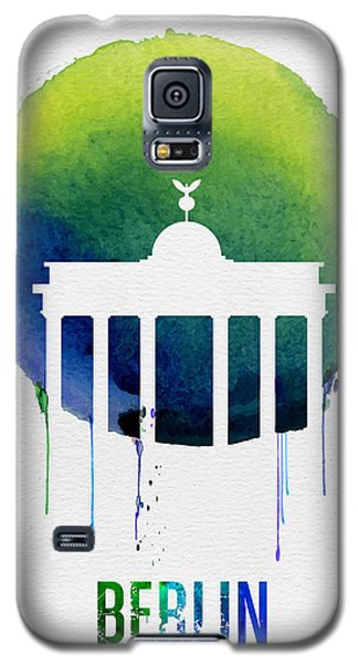 Berlin Galaxy S5 Case - Berlin Landmark Blue by Naxart Studio