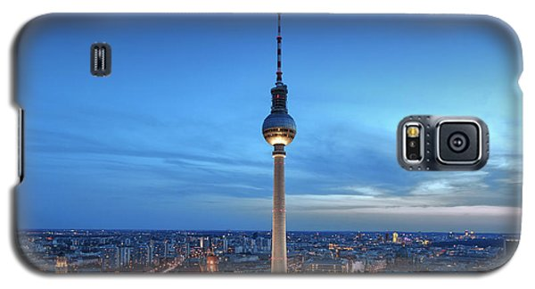 Berlin Television Tower Galaxy S5 Case