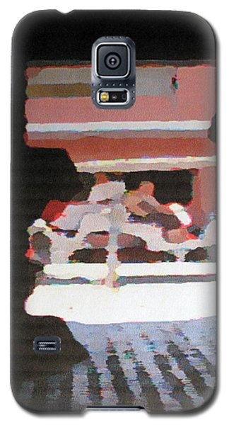 Galaxy S5 Case featuring the photograph Bermuda Carriage Impressions by Ian  MacDonald