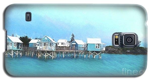 Bermuda Coastal Cabins Galaxy S5 Case