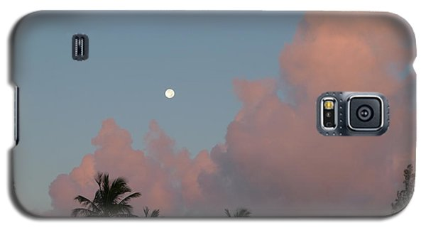 Bermuda Morning Moon Galaxy S5 Case by Richard Reeve