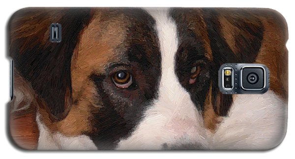 Galaxy S5 Case featuring the painting Bernadette by Doug Kreuger