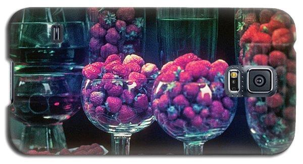 Berries In The Window Galaxy S5 Case