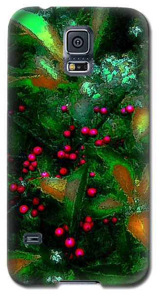 Galaxy S5 Case featuring the photograph Berries by Iowan Stone-Flowers