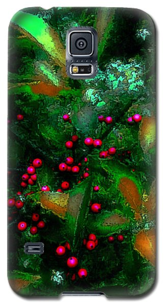 Berries Galaxy S5 Case by Iowan Stone-Flowers