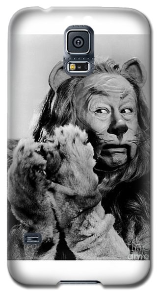 Bert Lahr As The Cowardly Lion In The Wizard Of Oz Galaxy S5 Case