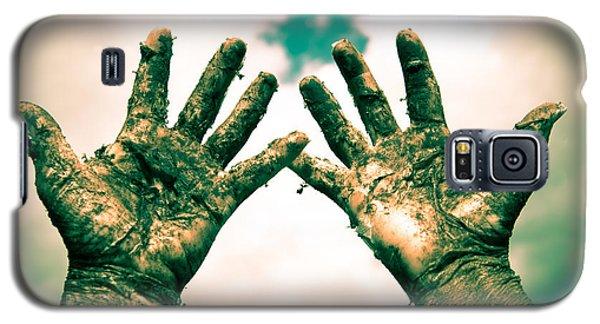 Beseeching Hands Galaxy S5 Case
