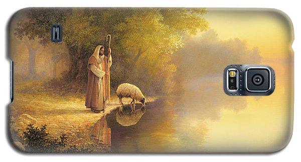 Religious Galaxy S5 Case - Beside Still Waters by Greg Olsen