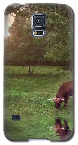 Galaxy S5 Case featuring the photograph Beside Still Waters by Mark Fuller