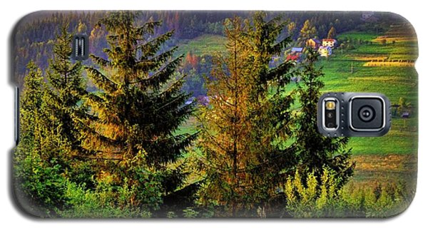 Galaxy S5 Case featuring the photograph Beskidy Mountains by Mariola Bitner