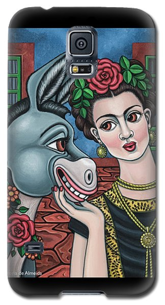 Beso Or Fridas Kisses Galaxy S5 Case