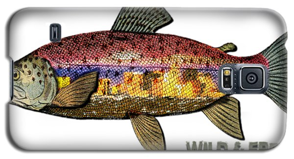 Fishing - Best Caught Wild - On Light No Hat Galaxy S5 Case by Elaine Ossipov