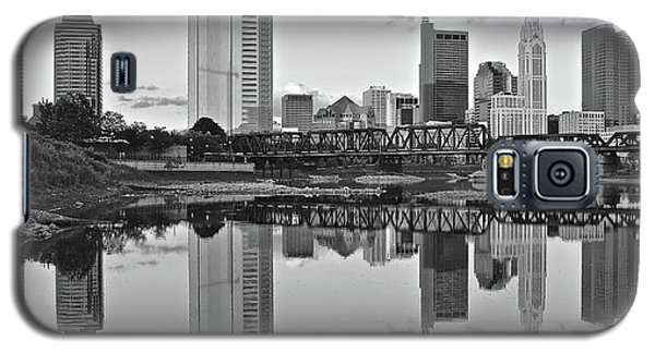 Galaxy S5 Case featuring the photograph Best Columbus Black And White by Frozen in Time Fine Art Photography