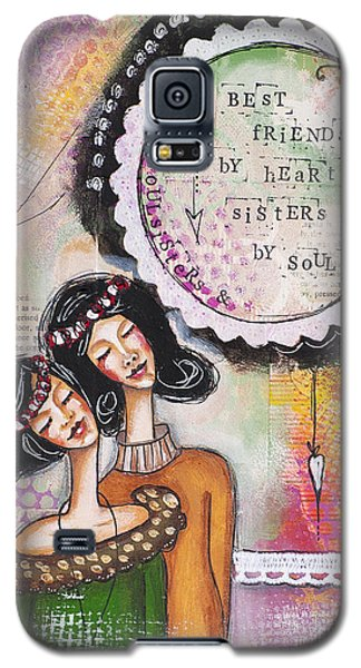 Best Friends By Heart, Sisters By Soul Galaxy S5 Case