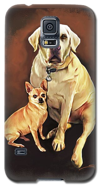 Best Friends By Spano Galaxy S5 Case by Michael Spano