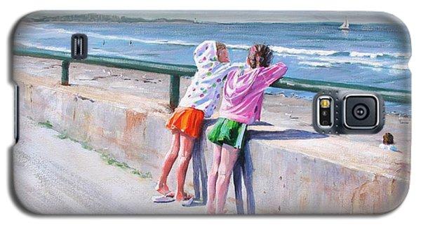 Best Friends Galaxy S5 Case by Laura Lee Zanghetti