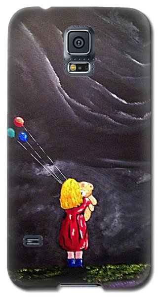 Galaxy S5 Case featuring the painting Best Friends by Scott Wilmot